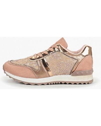 Текстильные кроссовки - розовые Dino Albat
