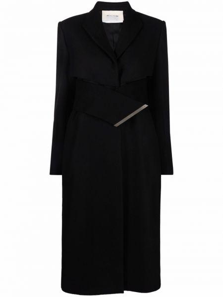 Черное пальто с воротником 1017 Alyx 9sm