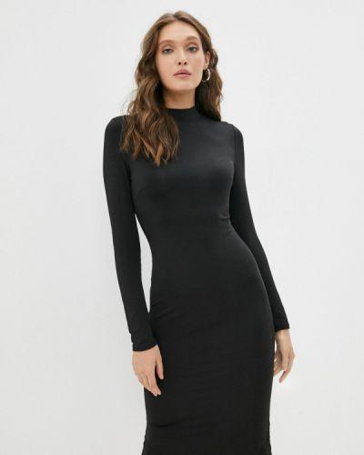 Платье футляр - черное By Swan