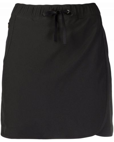 Черная юбка с завышенной талией Patagonia