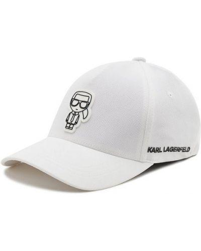 Rękawiczki - białe Karl Lagerfeld