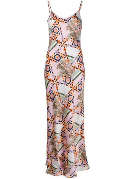 Платье на бретелях с V-образным вырезом Temperley London