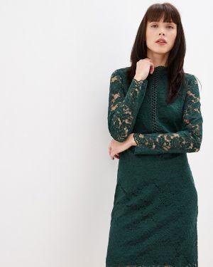 Платье прямое осеннее Vila