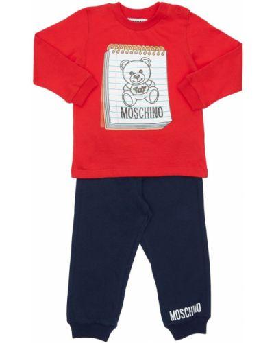 Bawełna spodnie Moschino