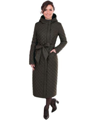 Пальто с капюшоном на кнопках с поясом J-splash