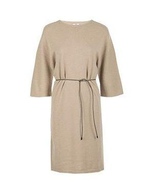 Деловое платье бежевое Peserico