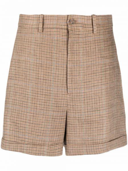Beżowe szorty z paskiem Polo Ralph Lauren