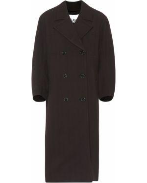 Пальто двубортное Ganni