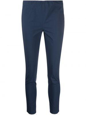 Хлопковые синие брюки узкого кроя Antonelli