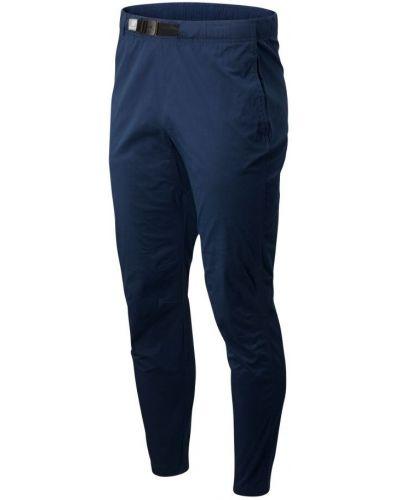 Синие брюки с поясом New Balance