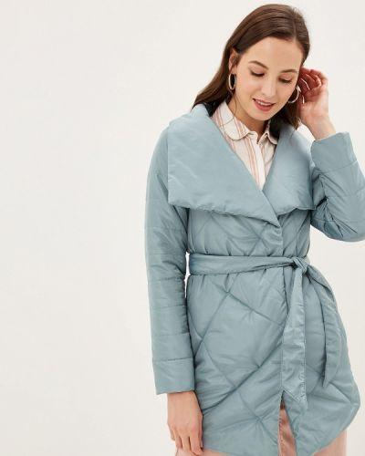 Бирюзовая утепленная куртка Grand Style