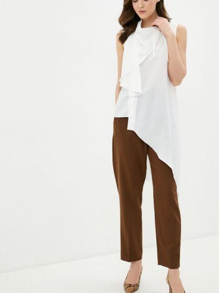 Белая блузка без рукавов Adzhedo