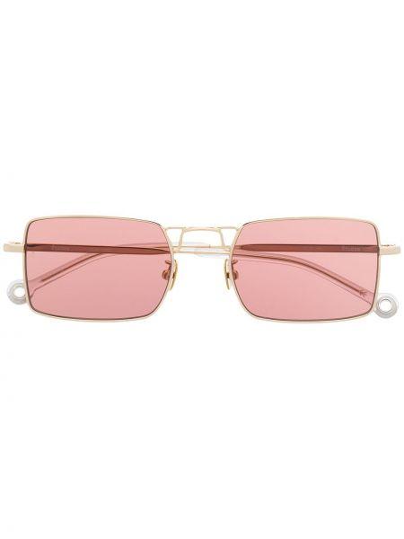 Okulary srebrne - różowe Etudes
