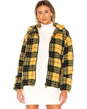 Куртка плюшевая на молнии Superdown