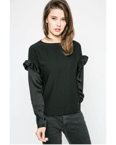 Блузка с рюшами с вырезом Trussardi Jeans