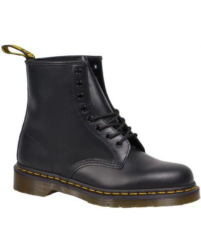 Ботинки на шнуровке кожаные высокие Dr. Martens