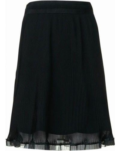 Czarna spódnica plisowana Carven