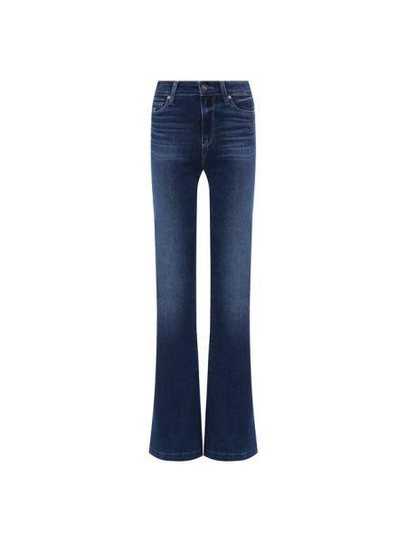 Расклешенные джинсы стрейч офисные Paige