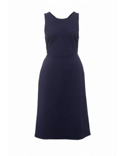 Платье миди - синее Banana Republic