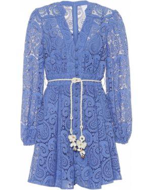 Летнее платье мини Zimmermann