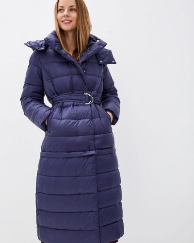 Синяя утепленная куртка Odri Mio