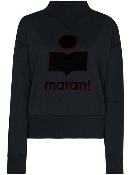 Bluza dresowa - czarna Isabel Marant Etoile