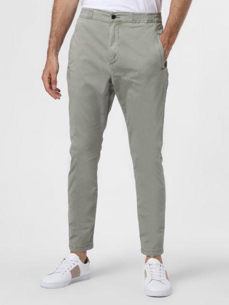 Zielone spodnie Denham