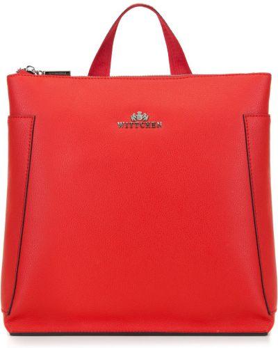 Красный кожаный рюкзак Wittchen