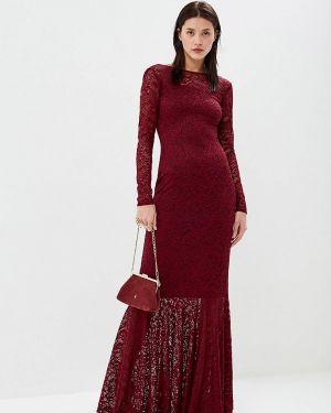 Вечернее платье бордовый весеннее Sseniore