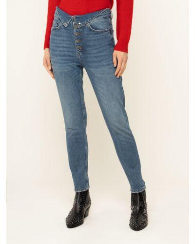Mom jeans - granatowe The Kooples