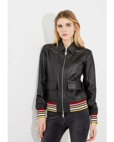 Черная куртка Twin-set Simona Barbieri