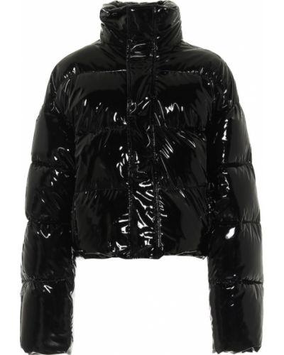 Czarna kurtka puchowa Balenciaga