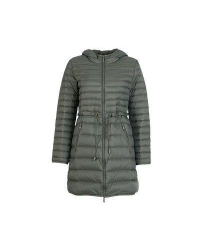 Зимняя куртка демисезонная с капюшоном с поясом Armani Jeans