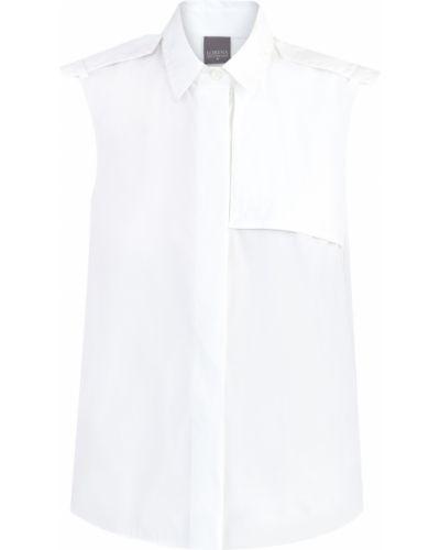 Блузка без рукавов с люрексом классическая Lorena Antoniazzi