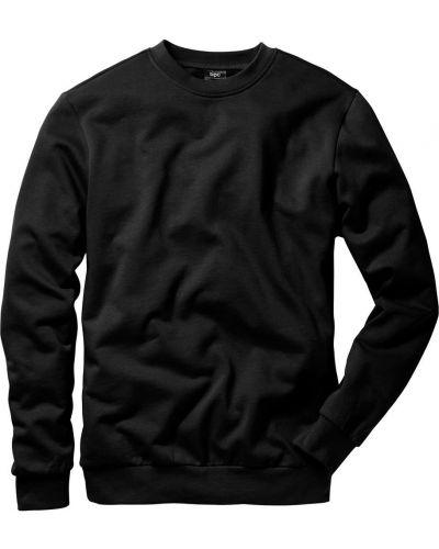Черный свитшот Bonprix