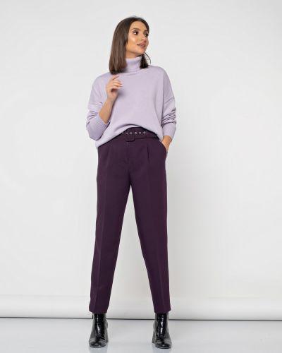 С завышенной талией деловые брюки с защипами с карманами Jetty