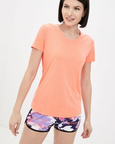 Оранжевая спортивная футболка Rukka