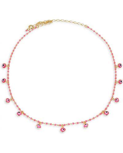 Różowy złoty choker Gabi Rielle