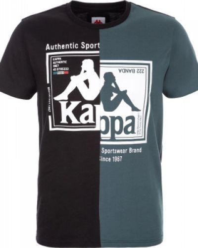 Спортивная футболка черная плоский Kappa