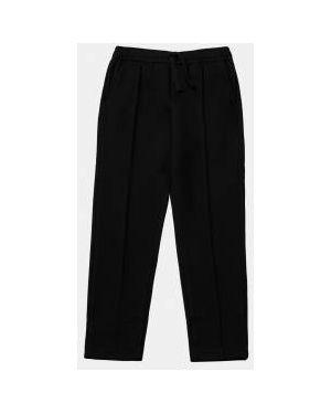 Спортивные брюки черные на резинке Gulliver Wear