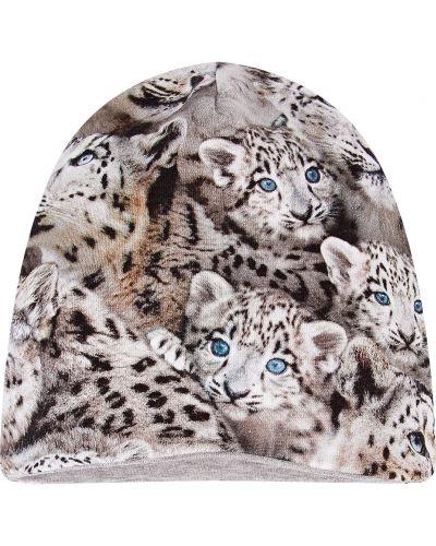 Серый хлопковый шарф Molo