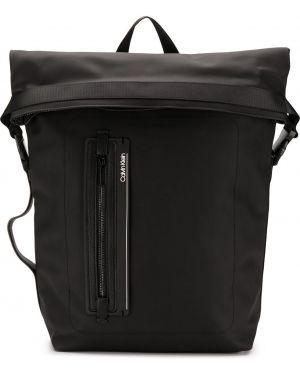 Рюкзак с пряжкой - черный Calvin Klein
