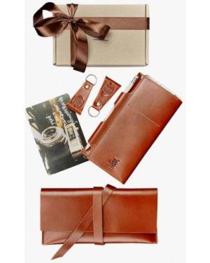 Брелок коричневый набор Blanknote