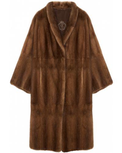 Зимнее пальто длинное расклешенное меха екатерина