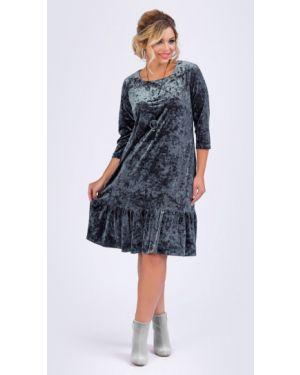 Платье серое платье-сарафан тм леди агата