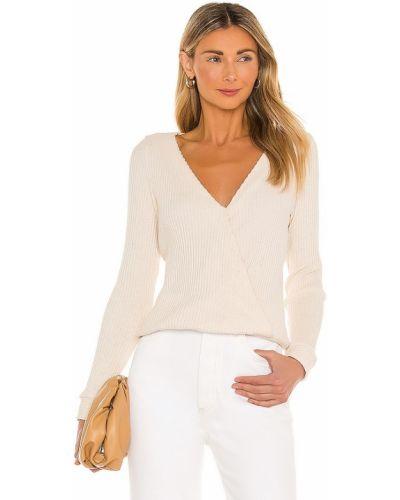 Beżowa bluzka bawełniana Krisa