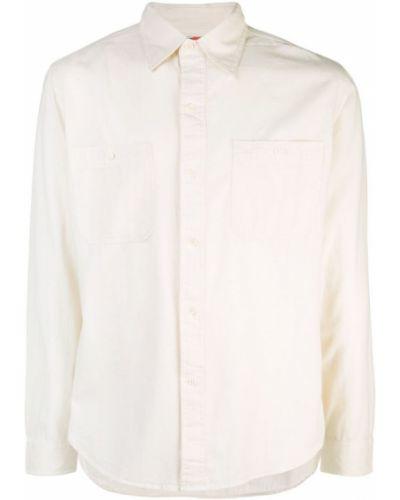 Рубашка с длинным рукавом с карманами белый Best Made Co