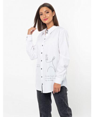 С рукавами блузка с воротником свободного кроя Jetty