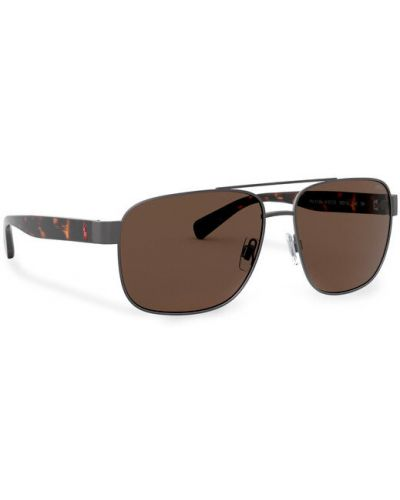 Okulary - brązowe Polo Ralph Lauren