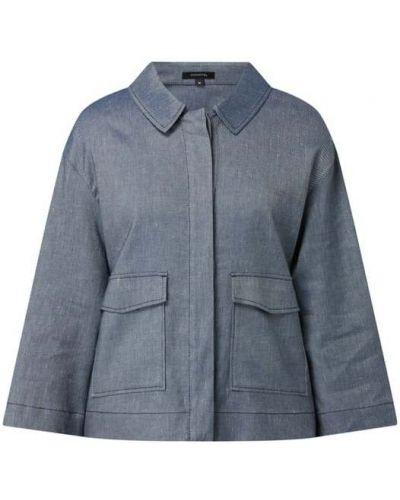 Niebieska kurtka bawełniana Comma